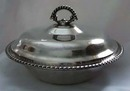 William Rogers Silverplate covered casserole