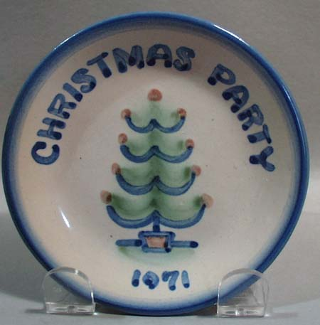 M.A. Hadley Christmas Party 1971 Coaster