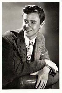 Photo of Marshall Thompson, studio signed: