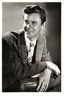 Photo of Marshall Thompson, studio signed: