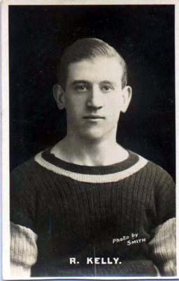 Kelly Football Promotional Card