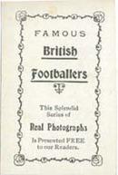 Kelly Football Promotional Card