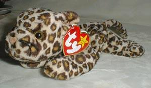 TY Beanie Baby,Freckles Leopard