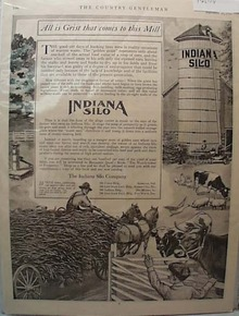 Indiana Silo Ad 1914 from Country Gentleman