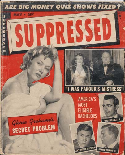 May 1956 Issue Suppressed Magazine