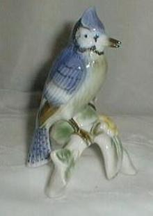 Bavaria Blue Jay by Gebold, mint condition, looks real!!