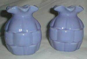 Blue basket weave type porcelain