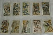 Players Cigarette cards 10 of them from the Life on Board the Man of War