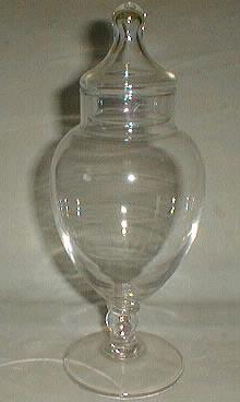 Stemware, Crystal Candy Urn