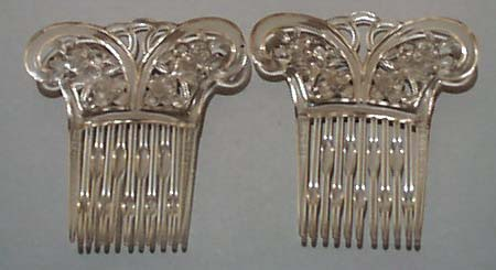 Tilco Plastic Side Combs Pair