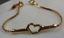 Goldette NYC Heart Bracelet