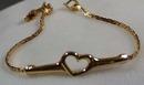 Goldette NYC Heart Bracelet