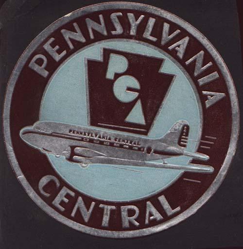 Pennsylvania-Central Air line Decal 1943