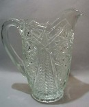 Pressed Glass Pitcher