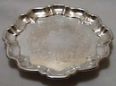 Wallace Avalon Silverplate #525 Tray