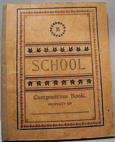 School Tablet with Teacher Notes 1904