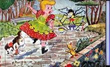Little Miss Muffitt Built-Rite puzzle #134-29.