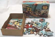 Jaymar Bantam Pocket Puzzle Mikey's Tugboat