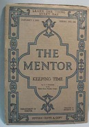 The Mentor Magazine Keeping Time