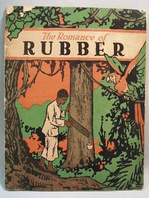 Booklet Romance of Rubber