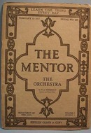 The Mentor Magazine The Orchestra 1917