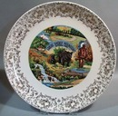 Great Smoky Mountains Souvineer Plate