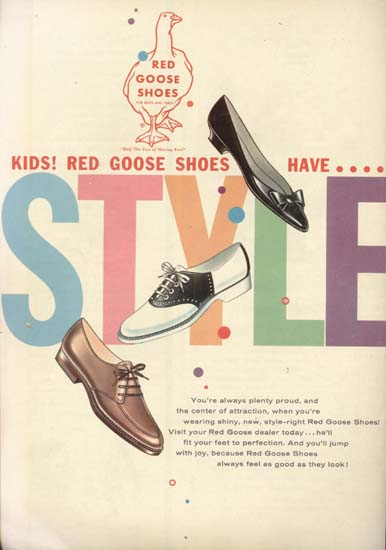 Reddy Goose Shoes Comic Book #10