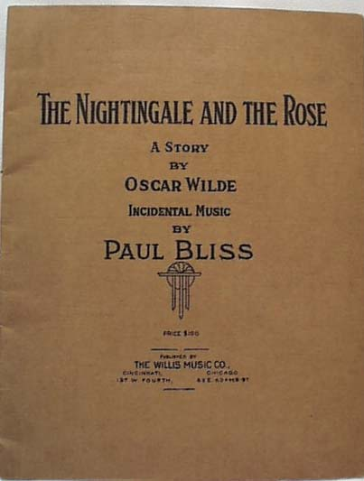 Oscar Wilde Book Nightingale Rose 1911