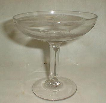 Cut Crystal Candy Compote