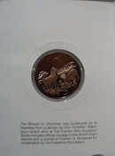 1988 The Miracle of Christmas Mint Coin