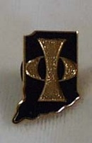 Indiana Police Tie Tack