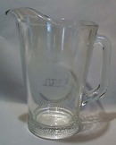 Nipsco Gas Company Crystal Pitcher