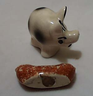 Smiley Pig & Hot Dog S & P