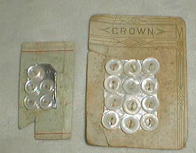 Shell shirt  buttons  by Crown