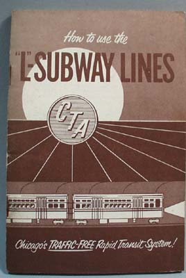 Booklet How to Use L-Subway Lines Chicago