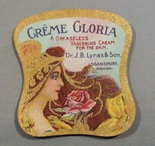 Victorian Label Reads Creme Gloria