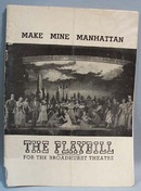 1948 Make Mine Manhattan Playbill