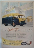 1951 Ad for White Super Power 3000 Truck
