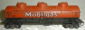 HO Train Mobilgas Car
