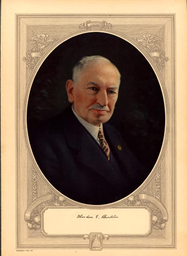 Burton, Theodore Elijah, Litho US Rep