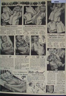 Sears Baby Wear 1938 Ad