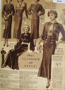 Sears June O Day Junior Miss Wear 1935 Ad
