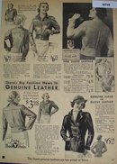Sears Young Women Leather Jackets 1936 Ad