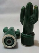 Cactus S&P Shakers Dark Green Yellow Flowers