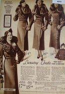 Sears Womens Luxury Coats 1936 Ad