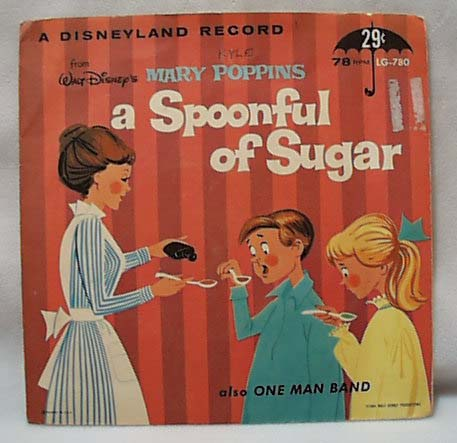 Disneyland Record Mary Poppins