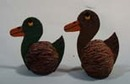Walnut Duck Salt & Pepper Shakers