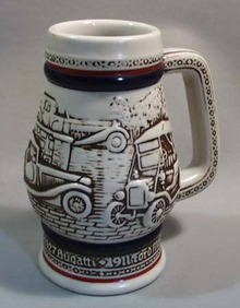 Avon Ceramic Mug Handcrafted in Brazil