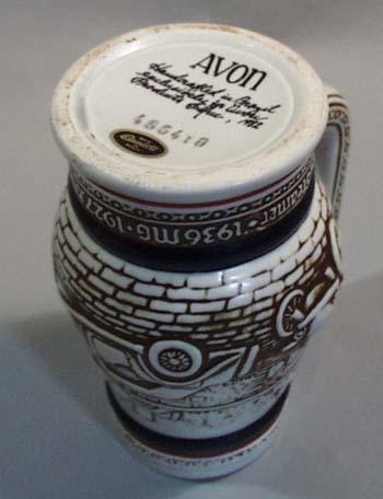 Avon Ceramic Mug Handcrafted in Brazil