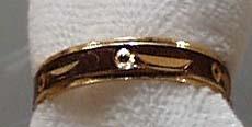 India Gold Tone Ring
